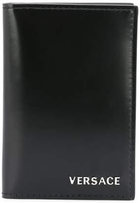 Versace foldover cardholder