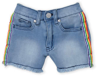 Pinc Premium Girls 7-16) Rainbow Stripe Shorts