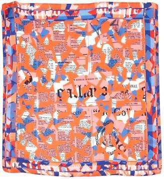 Galliano Silk handkerchief