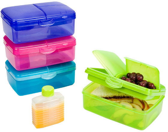 Slimline Quaddie Lunchbox