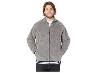 Polo Ralph Lauren Big Tall Vintage Sherpa Long Sleeve Jacket