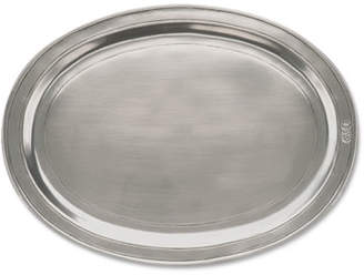 Match Medium Oval Incised Tray