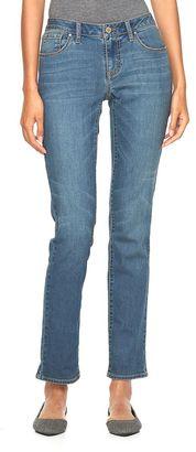 Women's Apt. 9® Modern Fit Straight-Leg Jeans $44 thestylecure.com