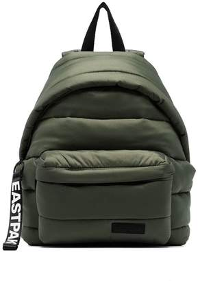 Eastpak khaki small padded backpack