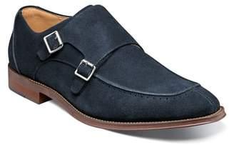 Stacy Adams Balen Moc Toe Double Strap Monk Shoe