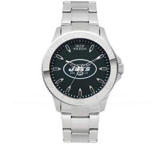 Jack Mason Men's New York Jets Color Sport Bracelet Watch