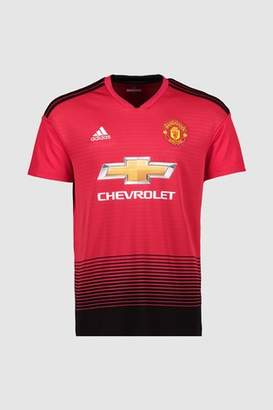Next Mens adidas Manchester United FC 2018/19 Jersey