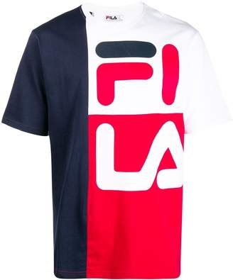 Fila colour block T-shirt