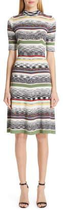 Missoni Multi Stripe Sweater Dress