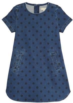 Tucker + Tate Dot Denim Shift Dress