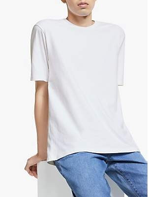 ad5ab7b43950 Mens Plain Crew Neck Fitted T Shirt - ShopStyle UK