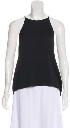 Halston Silk Sleeveless Top