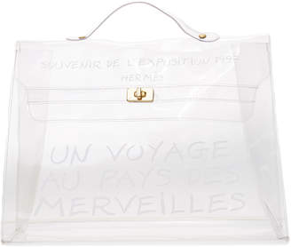 Hermes What Goes Around Comes Around Vinyl Kelly Bag (Previously Owned)