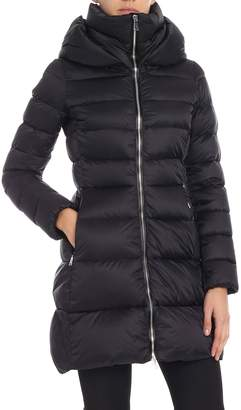 ADD Flared Hooded Padded Jacket