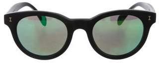 Illesteva Greenport Mirrored Sunglasses