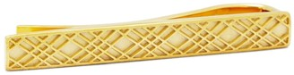 Brooks Brothers Gold-Plated Crisscross Tie Bar