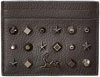 Christian Louboutin Kios Leather Card Case