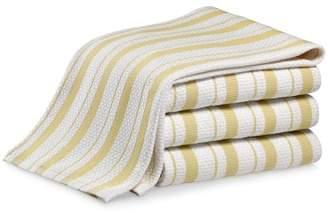Williams-Sonoma Williams Sonoma Classic Striped Towels, Set of 4, Jojoba Yellow