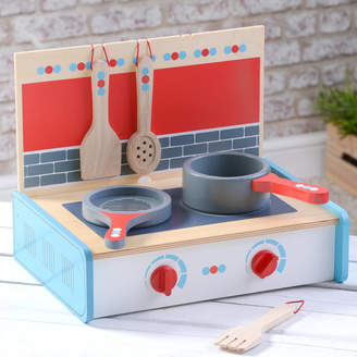 TheLittleBoysRoom Wooden Kitchen Portable Play Set
