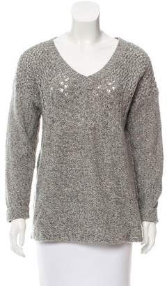 Twelfth Street By Cynthia Vincent Mélange Lambswool Sweater