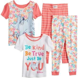 Toddler Girl Dr. Suess Horton Hears A Who Tops & Bottoms Pajama Set