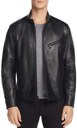 Andrew Marc Gibson Leather Moto Jacket
