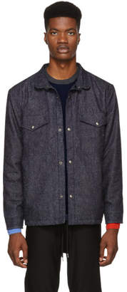 Levi's Levis Made and Crafted Blue Denim Shirt Jacket