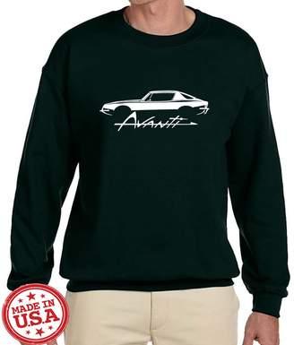 Avanti Maddmax Design Studebaker Classic Outline Design Sweatshirt