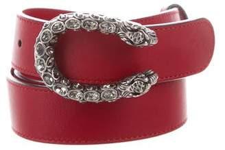 Gucci Leather Dionysus Belt