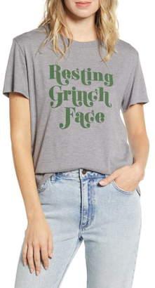 Sub Urban Riot Sub_Urban Riot Resting Grinch Face Tee