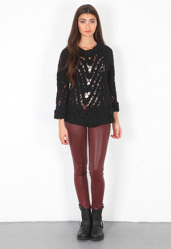 IRO Melacy Sweater in Black