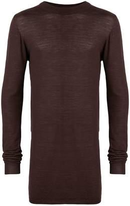 Rick Owens mock neck sweater