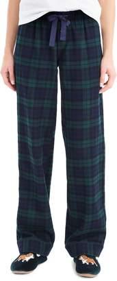 J.Crew Vintage Black Watch Plaid Flannel Pajama Pants
