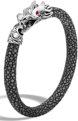 John Hardy Legends Naga 6mm Station Bracelet