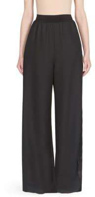 Maison Margiela Wide-Leg Wool Pants