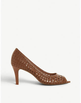 Dune Cruise leather court shoes