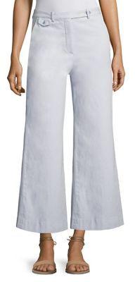 TheoryTheory Nadeema Wide-Leg Chino Pants