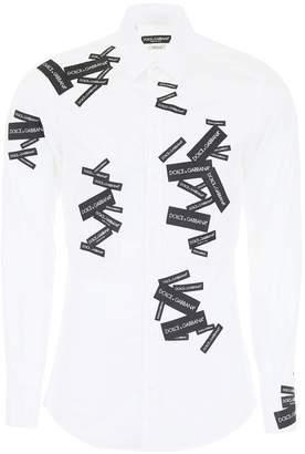 Dolce & Gabbana Dolce \u0026 Gabbana Shirt With Patches