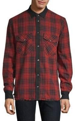 Diesel Wear Reversible Checked Shirt
