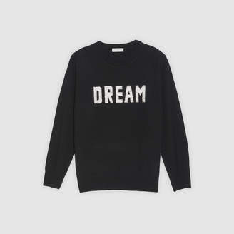 Sandro Jumper with embroidered slogan