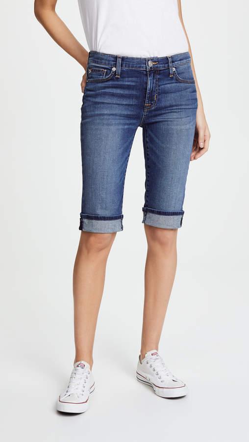 Amelia Cuffed Knee Shorts