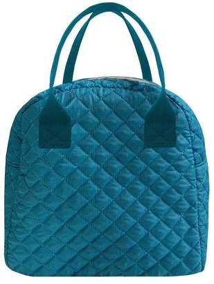MYTAGALONGS Teal Coco Quilted Lunch Box