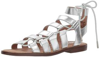 Amazon Brand - 206 Collective Women's Myrtle Gladiator Fashion Sandal Flat