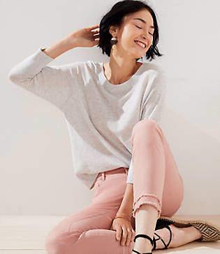 LOFT Petite Dolman Sweater