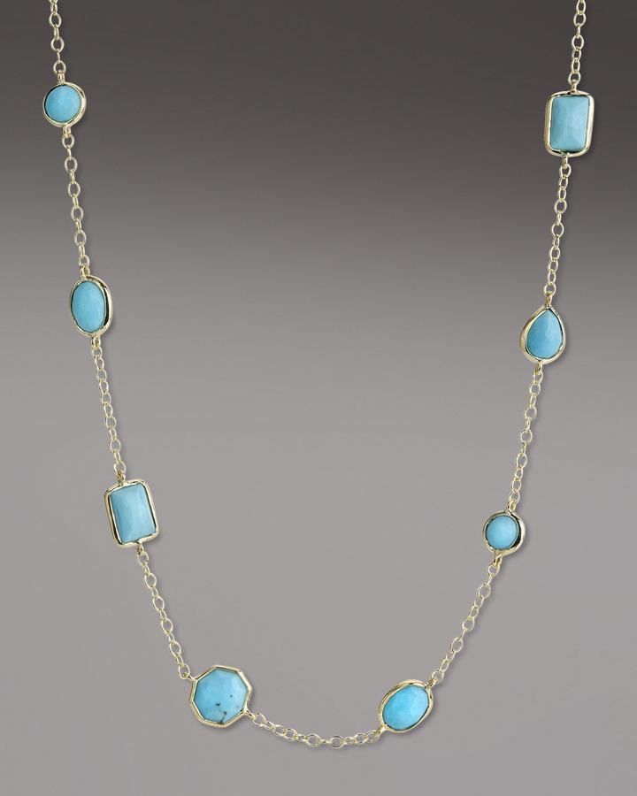 Ippolita Turquoise Gelato Necklace, Mini