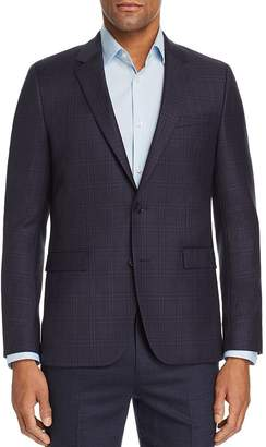 HUGO Astian Tonal-Plaid Slim Fit Sport Coat