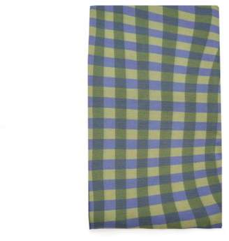 Molly Goddard - Bevan Checked Tights - Womens - Green