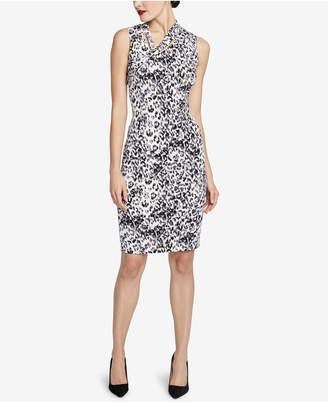 Rachel Roy Axel Leopard-Print Dress, Created for Macy's