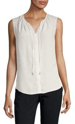 Tahari Jandra Sleeveless Blouse