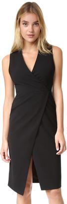 alice + olivia Carissa Faux Wrap Dress $368 thestylecure.com